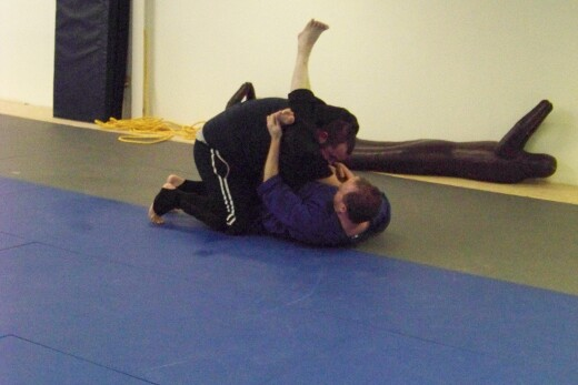 Working on triangle choke