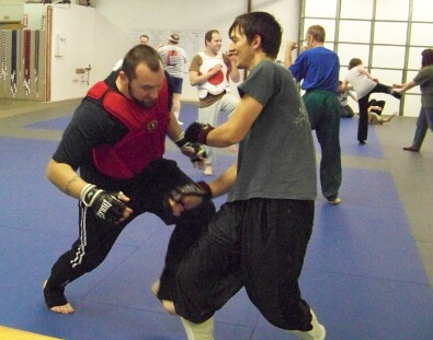 Free sparring