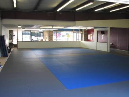 Gym mat area 1