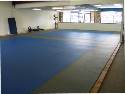Gym mat area 3